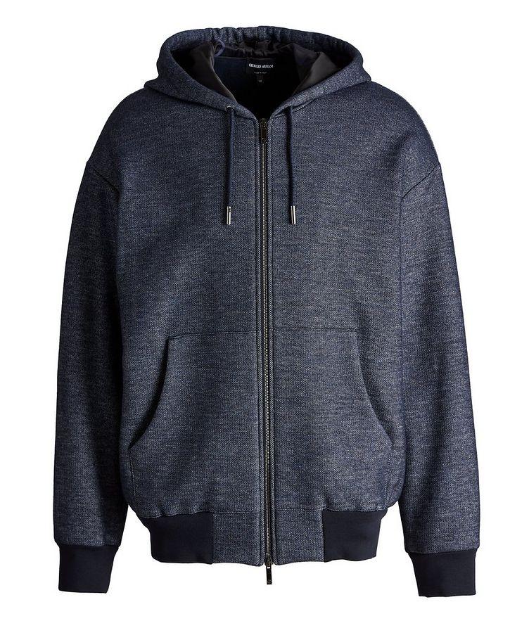 Zip-Up Cotton-Wool Hoodie image 0