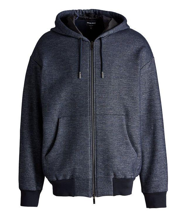 Zip-Up Cotton-Wool Hoodie picture 1