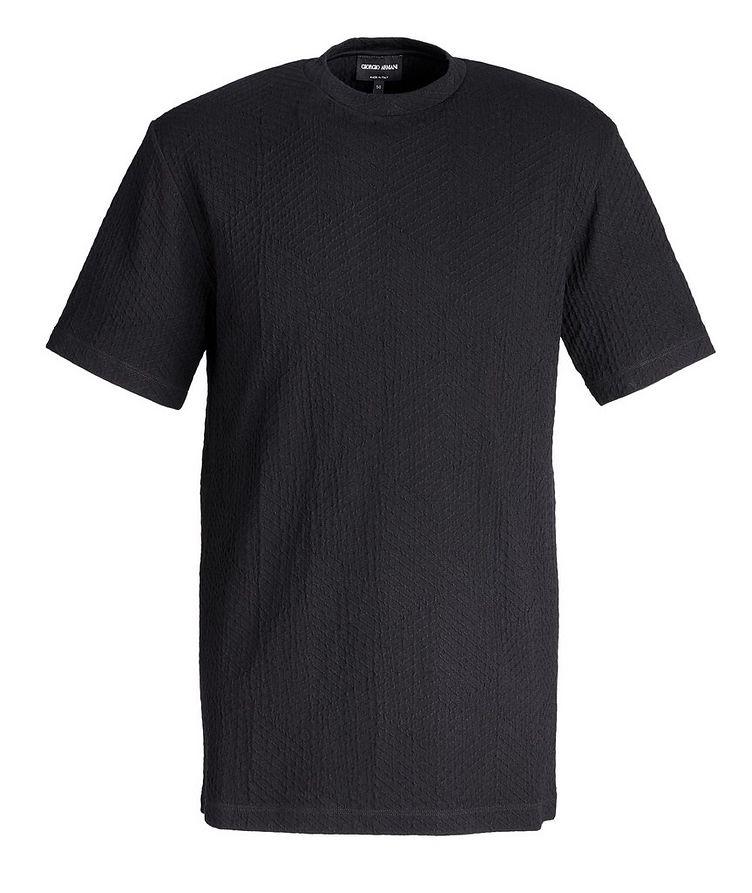 Chevron Textured T-Shirt image 0