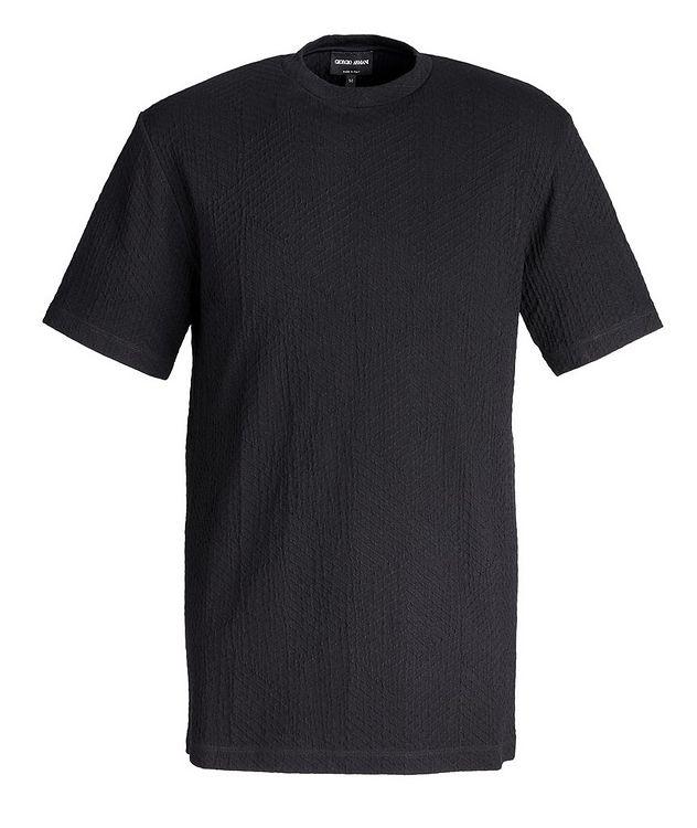 Chevron Textured T-Shirt picture 1