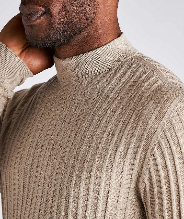 Wool-Blend Mock Neck Sweater image 3