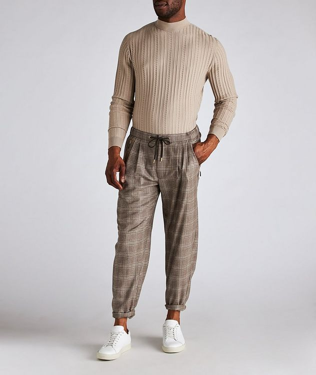 Wool-Blend Mock Neck Sweater picture 5