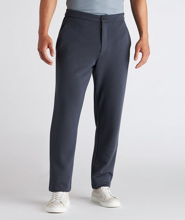 Cotton, Cashmere, and Silk Terry Trousers picture 2