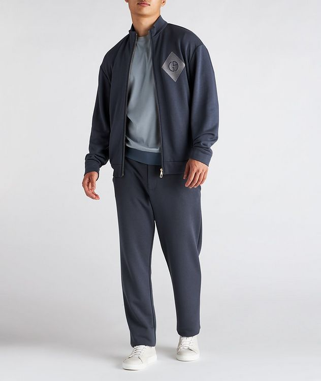 Cotton, Cashmere, and Silk Terry Trousers picture 4