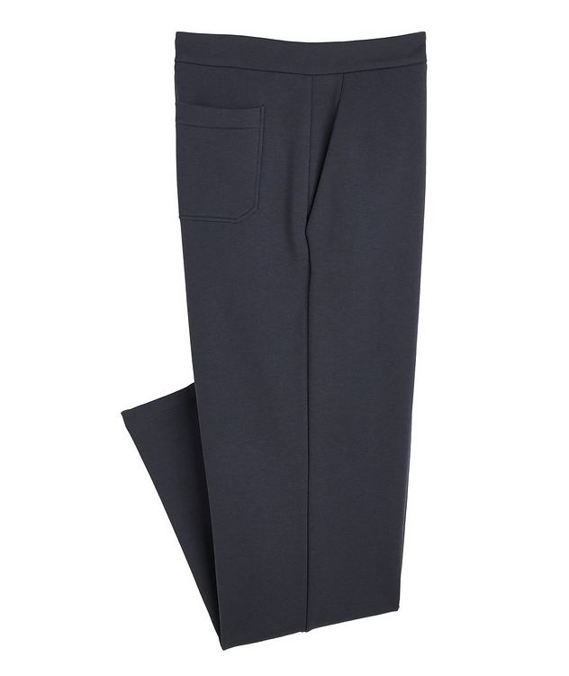 Cotton, Cashmere, and Silk Terry Trousers picture 1