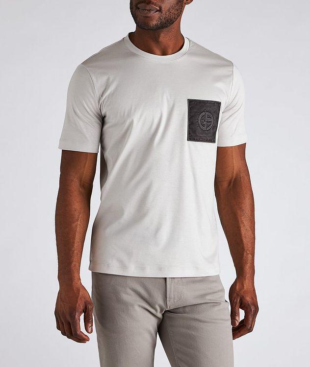 Logo Pocket Cotton T-Shirt picture 2