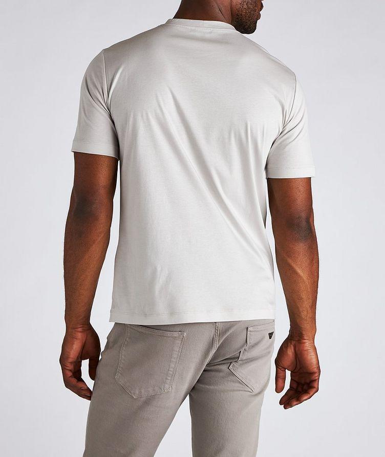 Logo Pocket Cotton T-Shirt image 2