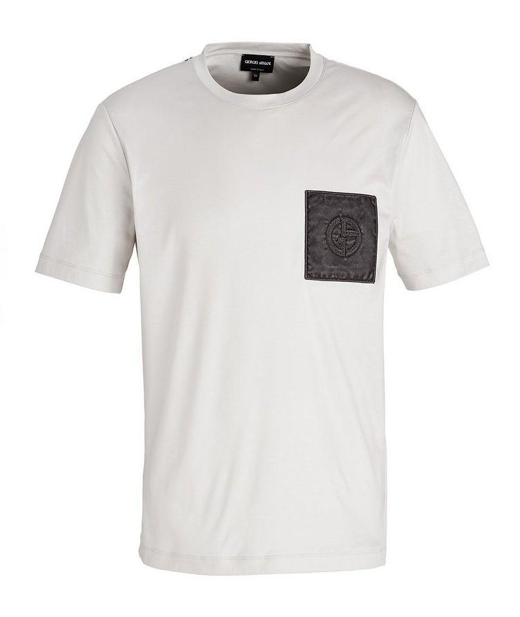 Logo Pocket Cotton T-Shirt image 0