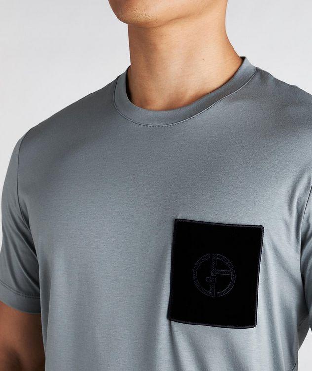 Logo Pocket Cotton T-Shirt picture 3