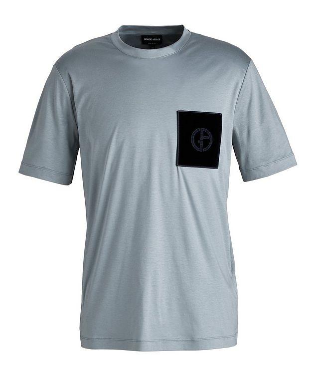 Logo Pocket Cotton T-Shirt picture 1