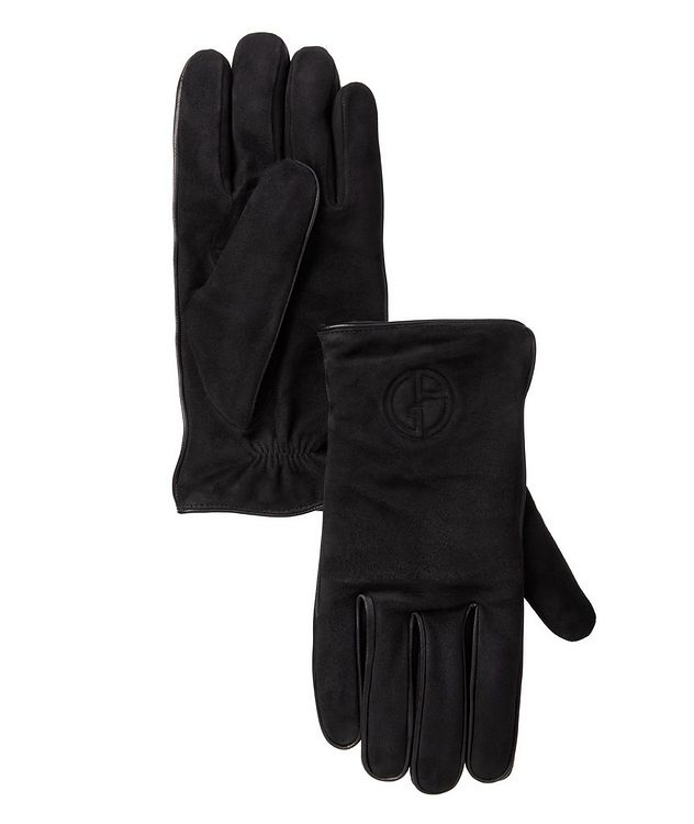 Nappa Suede & Cashmere Gloves picture 1