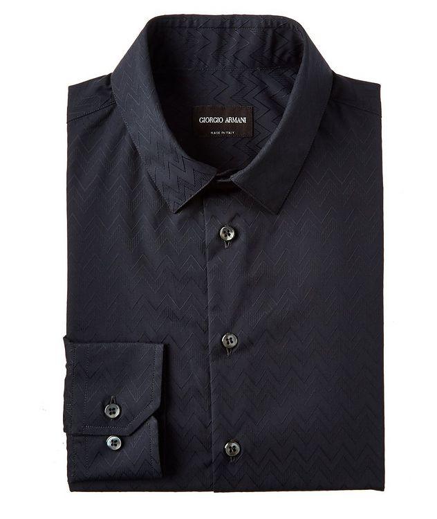 Chevron Cotton Sport Shirt picture 1