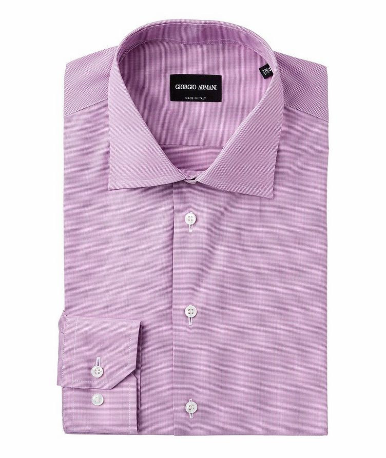Slim Fit Cotton Dress Shirt image 0