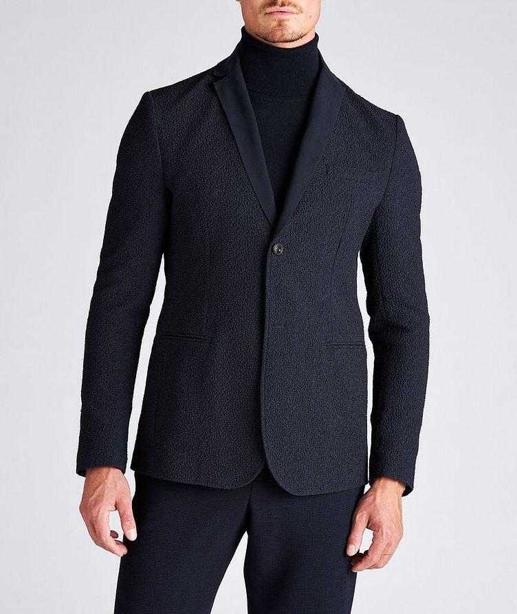 Crinkled Textured Sports Jacket image 1