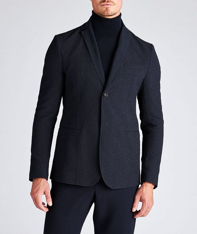 Crinkled Textured Sports Jacket picture 2