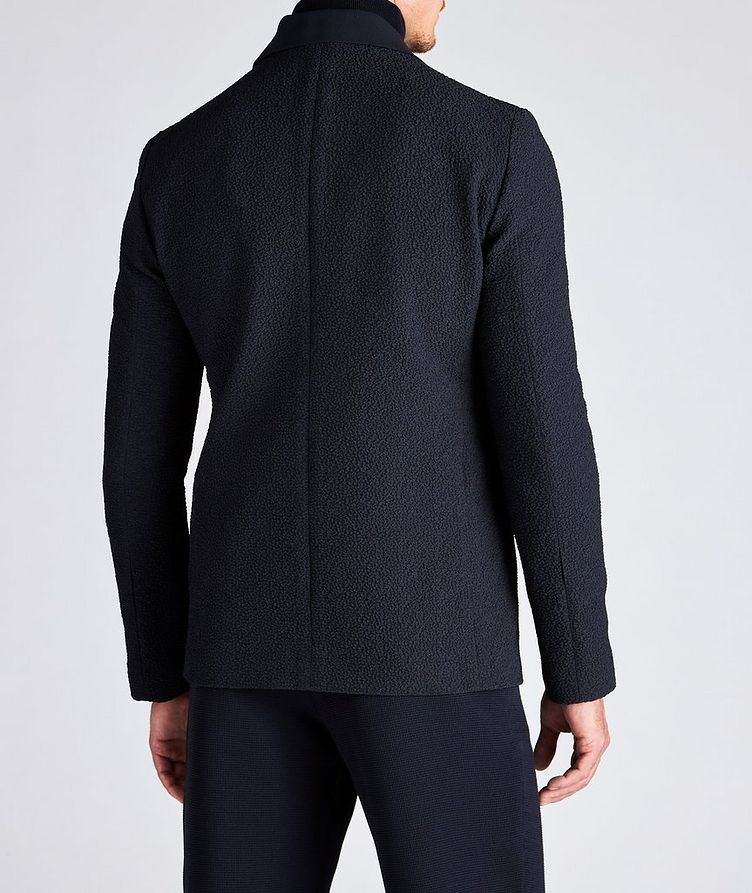 Crinkled Textured Sports Jacket image 2