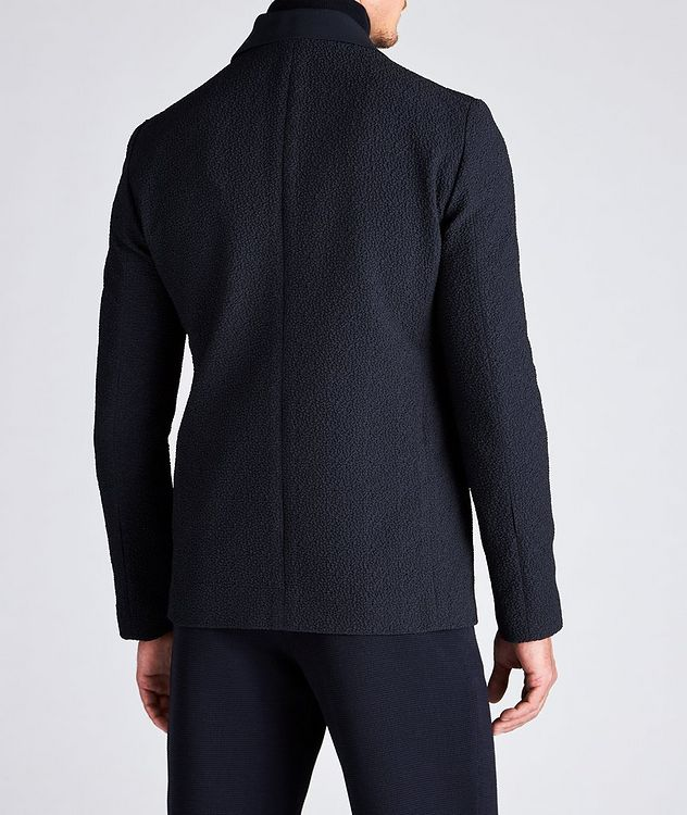 Crinkled Textured Sports Jacket picture 3