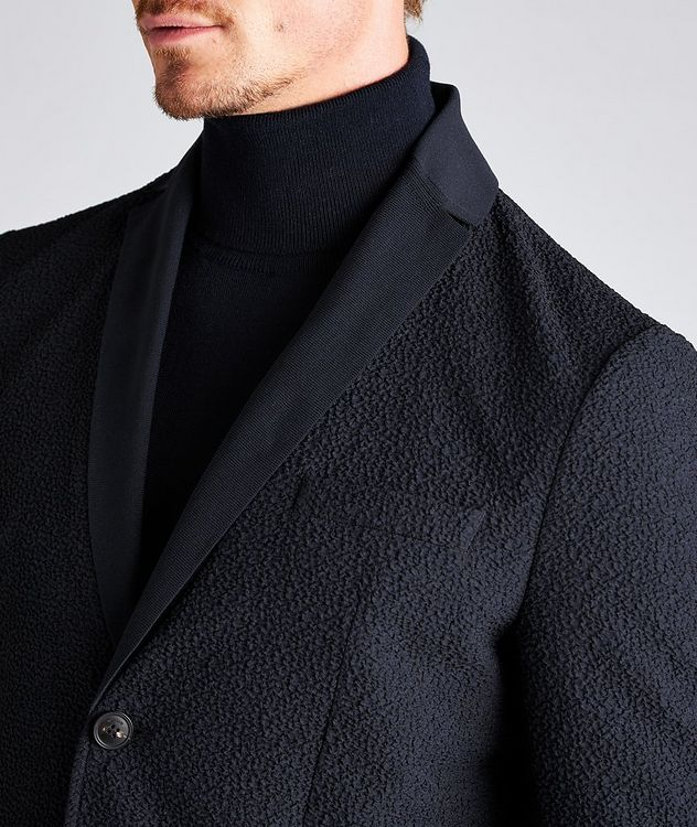 Crinkled Textured Sports Jacket picture 4