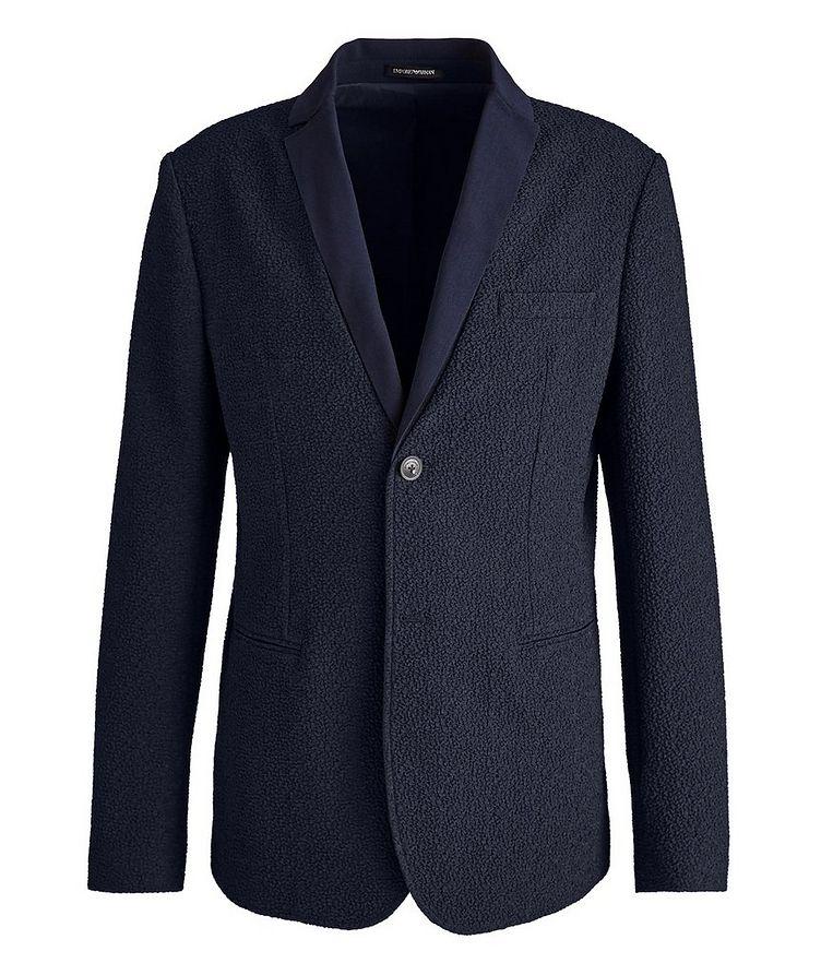 Crinkled Textured Sports Jacket image 0
