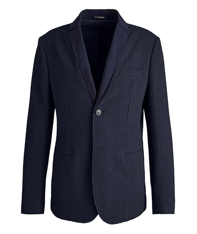 Crinkled Textured Sports Jacket picture 1
