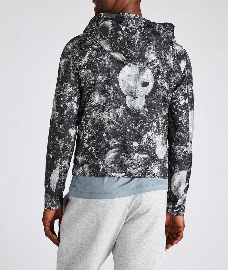 Surreal Print Hooded Blouson Jacket image 2