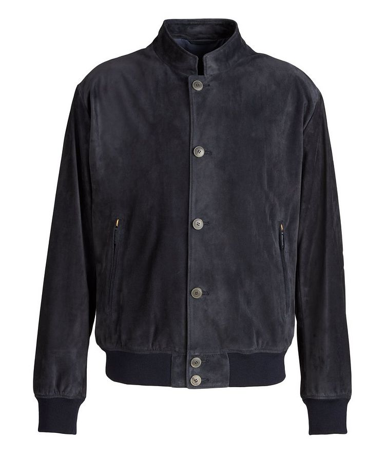Calfskin Suede Blouson Jacket image 0