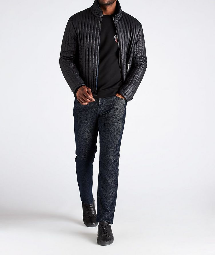 Reversible Quilted Blouson Jacket image 5