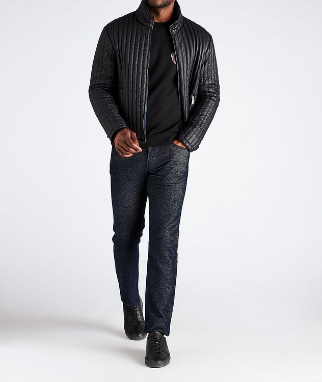 Reversible Quilted Blouson Jacket picture 6
