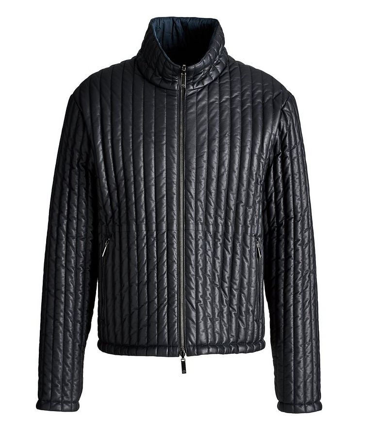 Reversible Quilted Blouson Jacket image 0