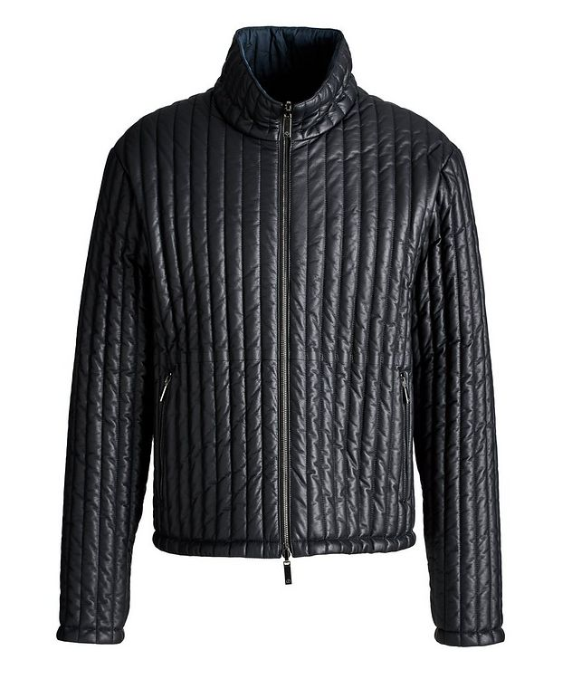 Reversible Quilted Blouson Jacket picture 1