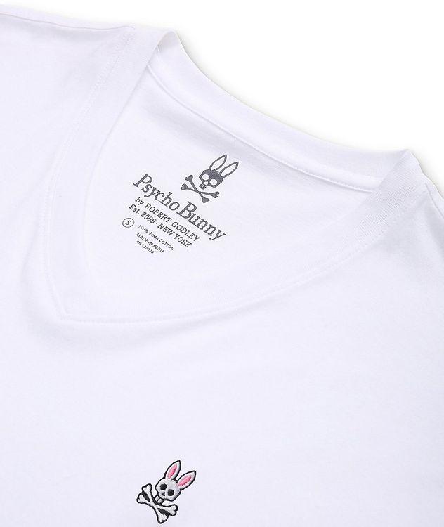 Logo Cotton V-Neck T-Shirt picture 2