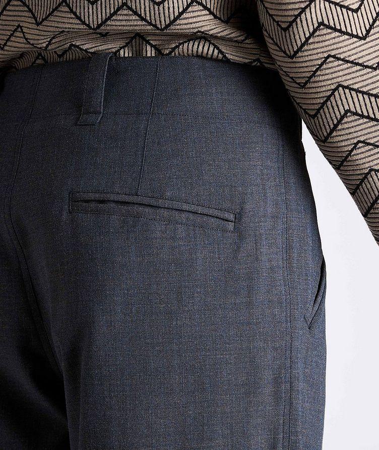 Stretch-Wool-Blend Dress Pants image 3