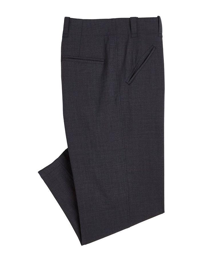 Stretch-Wool-Blend Dress Pants image 0