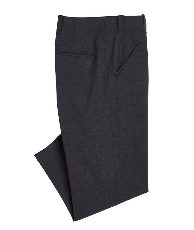 Stretch-Wool-Blend Dress Pants picture 1