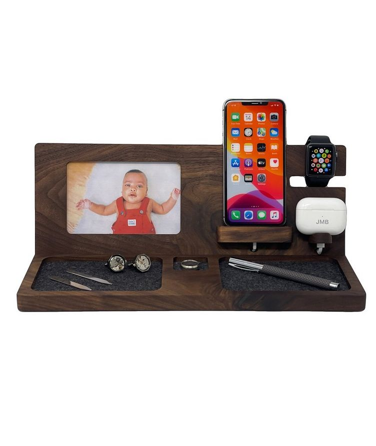 Deluxe Charging Dock With Picture Frame image 1