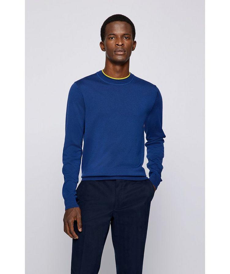 Virgin Wool Sweater image 1