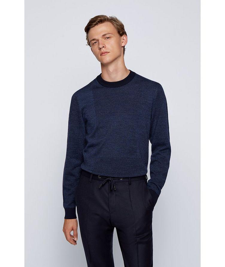 Knit Wool Sweatshirt image 2