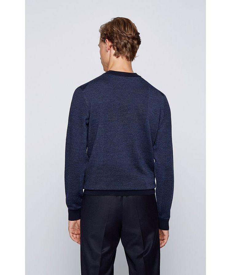 Knit Wool Sweatshirt image 3