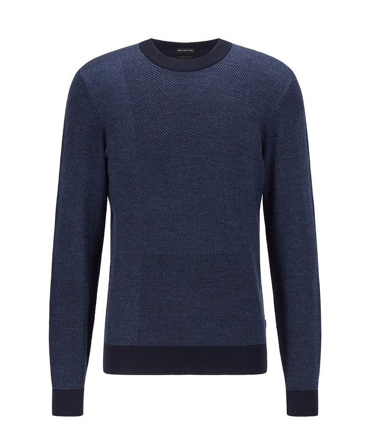 Knit Wool Sweatshirt image 0