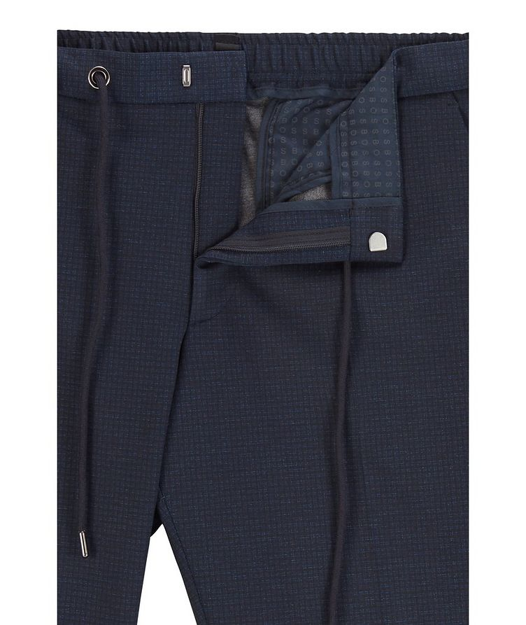 Genius Checked Trousers image 1