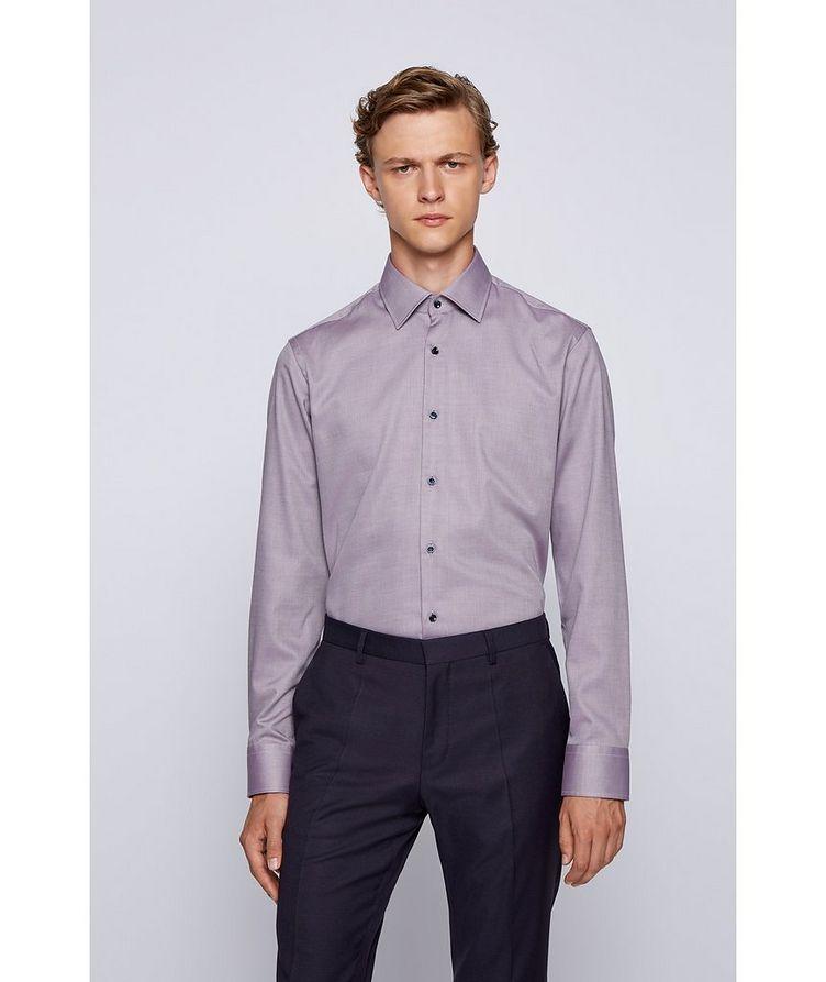 Contemporary-Fit Cotton Shirt image 1