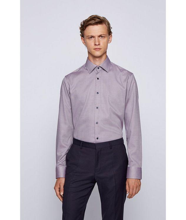 Contemporary-Fit Cotton Shirt picture 2