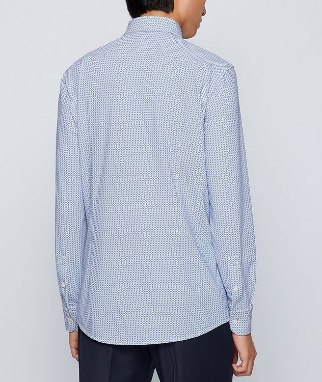 Hank Slim Fit Stretch Jersey Dress Shirt picture 3