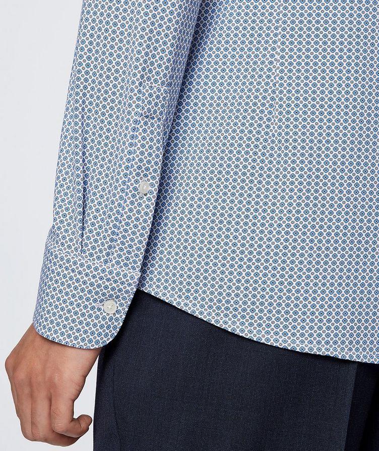 Hank Slim Fit Stretch Jersey Dress Shirt image 3