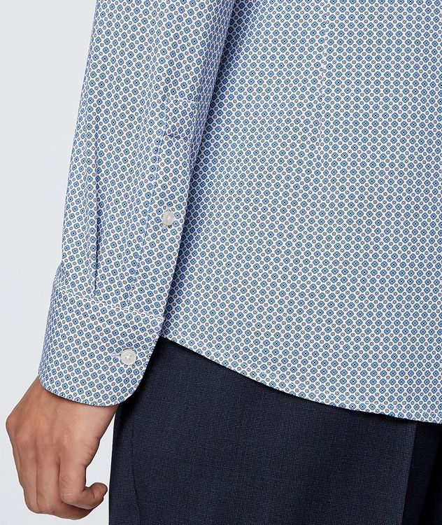 Hank Slim Fit Stretch Jersey Dress Shirt picture 4
