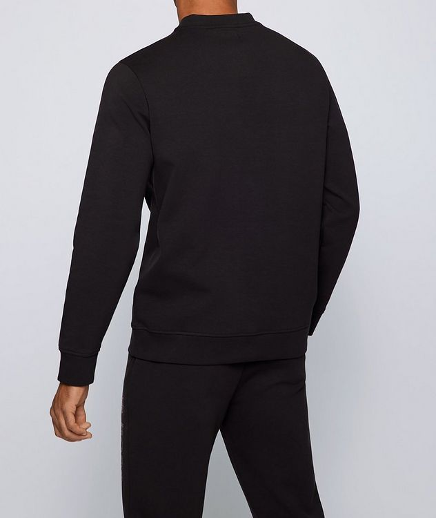 BOSS X NBA Long-Sleeve Cotton-Blend T-Shirt picture 3