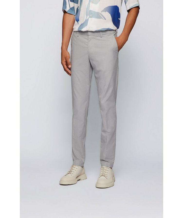 Kaito1 Slim Fit Stretch-Cotton Chinos image 1