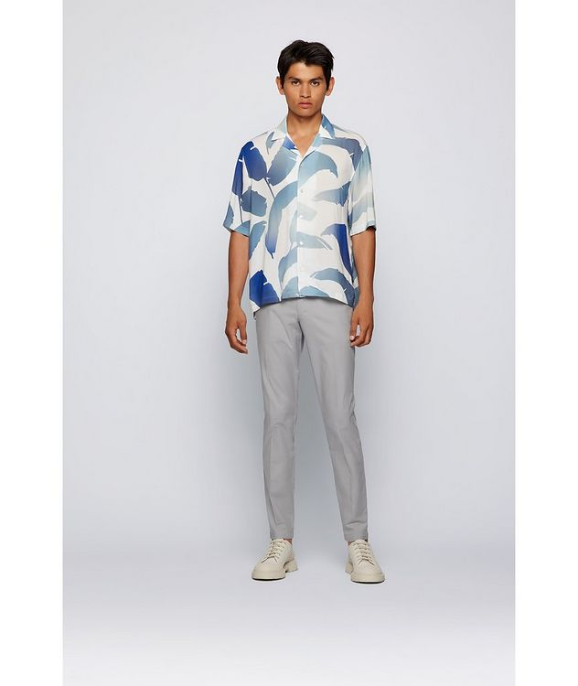 Kaito1 Slim Fit Stretch-Cotton Chinos picture 6