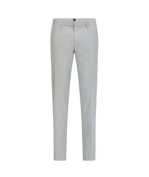 Kaito1 Slim Fit Stretch-Cotton Chinos picture 1