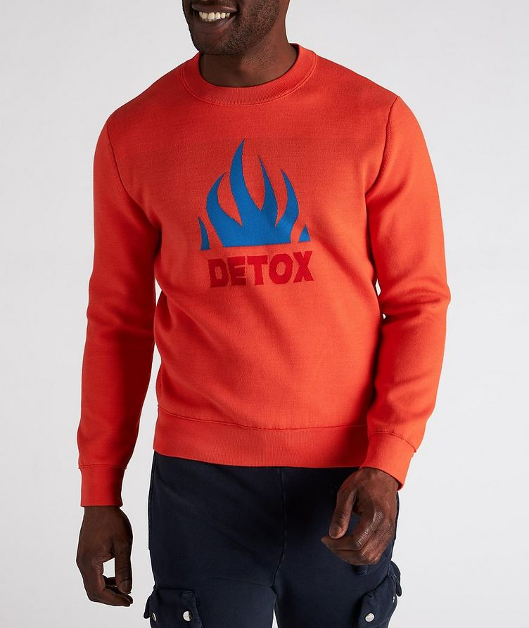 K-Texas Jacquard Cotton-Blend Sweatshirt image 1